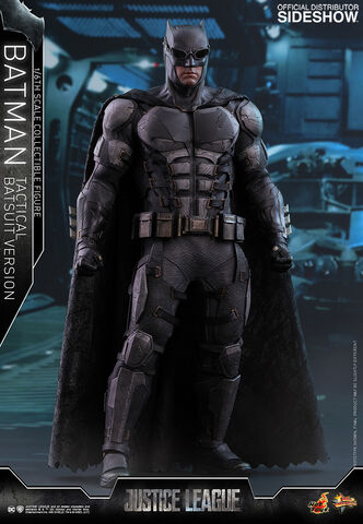 Figurine Hot Toys - Justice League - Movie Masterpiece - Batman Tactical Batsuit