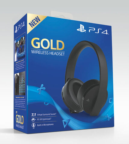 Casque Sans Fil Gold