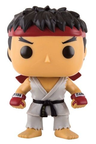 Figurine Funko Pop! N°137 - Street Fighter - Ryu