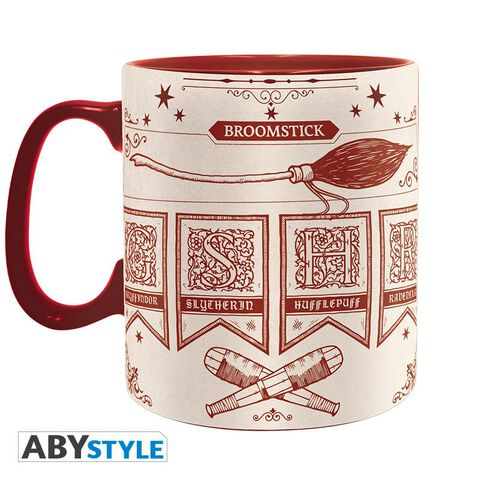 Mug - Harry Potter - Pack 2 Mugs 460 Ml Quidditch