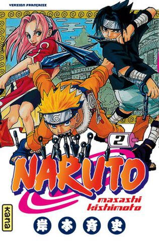 Manga - Naruto - Tome 2