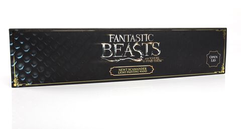Réplique - Les Animaux Fantastiques - Baguette newt lumineuse