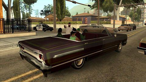 Grand Theft Auto : San Andreas (GTA)