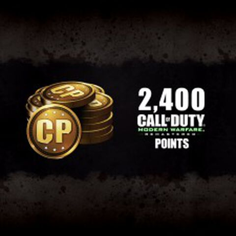 DLC - Call of Duty : Modern Warfare Remastered - 2 400 points