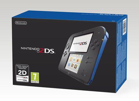 Nintendo 2DS Noire + Bleue