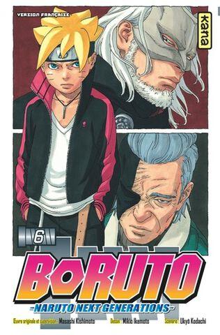 Manga - Boruto : Naruto Next Generations - Tome 6