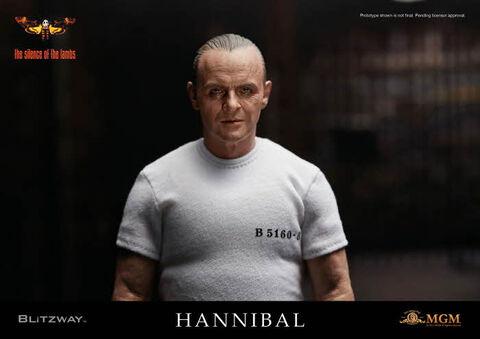 Figurine Blitzway - Le Silence Des Agneaux - Hannibal Lecter En Prison  1/6