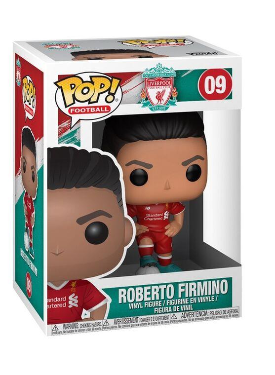 Figurine Funko Pop! N°09 - English Premier League - Liverpool Roberto Firmino