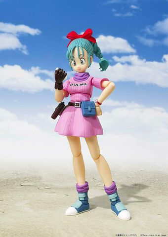 Figurine S.f. Figuarts - Dragon Ball - Bulma Adventure Begins