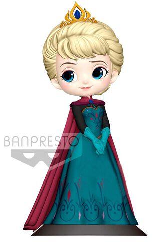 Figurine Q Posket - Disney - Elsa au couronnement