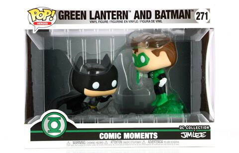 Figurine Funko Pop! N°271 - Green Lantern - Jim Lee Green Lantern - Exclusivité Micromania-Zing