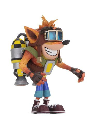 Figurine - Crash Bandicoot - Crash Deluxe avec Jetpack