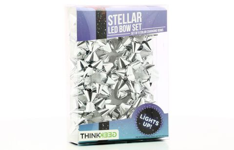 Decoration Papier Cadeau - Thinkgeek - Set De 6 étoiles En Led