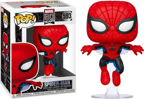 Figurine Funko Pop! N°593 - Marvel 80th : First Appearance - Spider-man