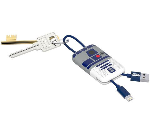 Chargeur Porte-clés - Star Wars - Lightning R2-D2