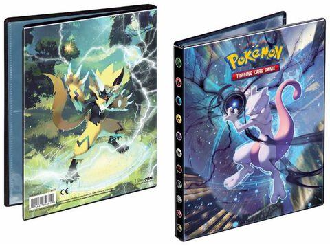 Cahier Range Cartes - Pokemon - Soleil Et Lune 10 - 80c.