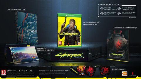 Cyberpunk 2077 Edition D1 - Versions Xbox Series et