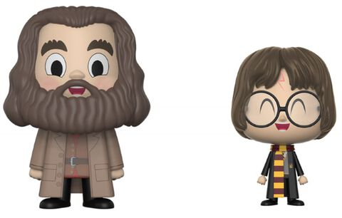 Figurine Vynl - Harry Potter - Twin Pack - Hagrid et Harry Potter