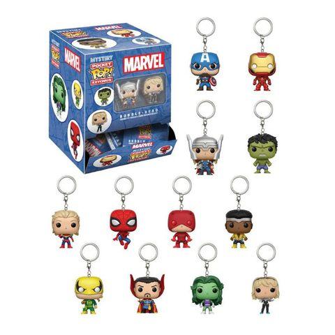 Porte-clés - Marvel - Pop Assortiment