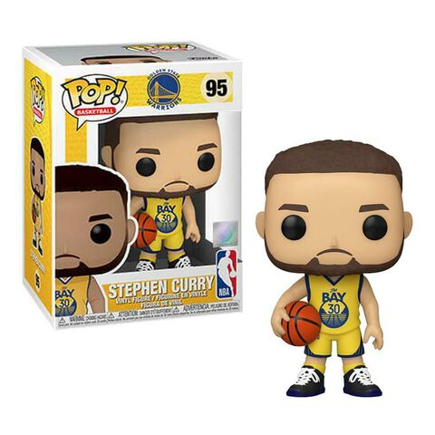 Figurine Funko Pop! N°95 - NBA - Golden State Warriors Stephcurry (alternate)