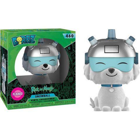 Figurine Dorbz N°460 - Rick et Morty - Série 1 Snowball (fl) - Exclusivité Micromania-Zing