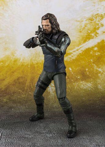 Figurine S.h Figuarts - Avengers Infinity War - Bucky