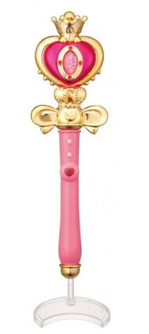 Réplique - Sailor Moon - Spiral Heart Moon Rod - 15 cm