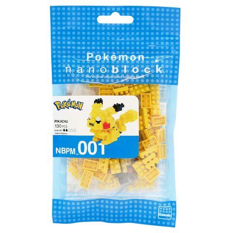 Figurine à monter Nanoblock - Pokémon - Pikachu