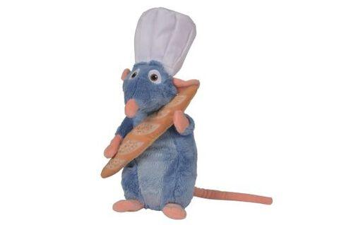 Peluche - Disney - Ratatouille - Remy Toque & Baguette 25 cm