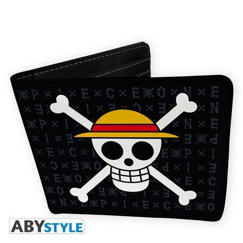 Coffret - One Piece - Portefeuille + Porte-clés Skull Luffy
