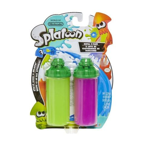 Recharge - Splatoon - Assortiment cartouches de recharge
