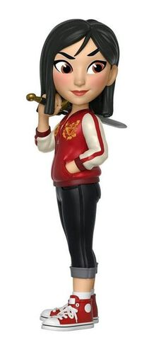 Figurine Rock Candy - Comfy Princesses - Mulan