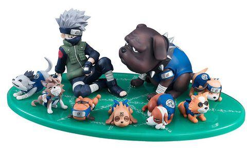 Statuette Megahouse - Naruto G.e.m Serie - Kakashi
