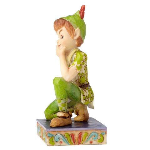 Statuette - Peter Pan - Agenouillé Disney Traditions