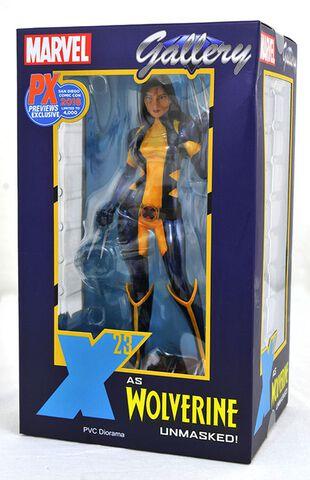 Statuette Marvel Gallery - X-Men - X-23 Démasquée 23 cm