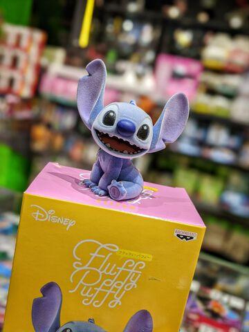 Figurine Fluffy Puffy - Lilo Et Stitch - Stitch 9 Cm
