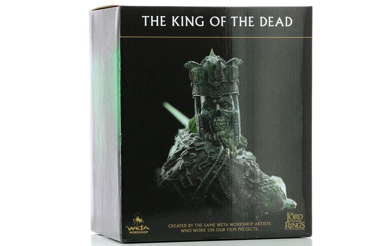 Statuette Weta - Le Seigneur des Anneaux - Roi des Morts 18 cm
