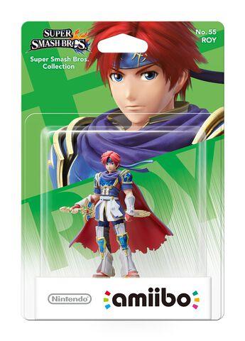 Figurine Amiibo N°55 Smash Roy