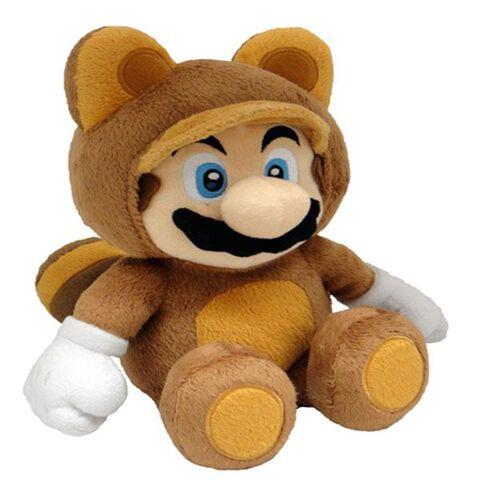 Peluche Nintendo Mario Tanooki