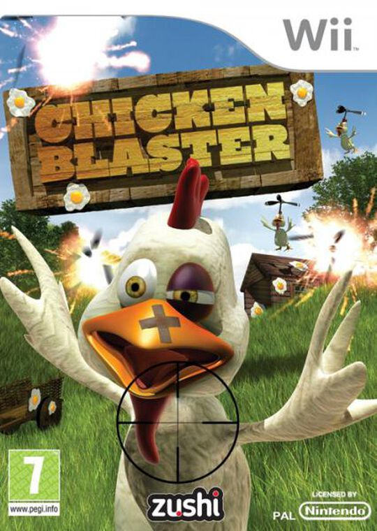 Chicken Blaster + 2 Light Pistols