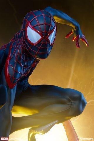 Statuette Sideshow - Marvel Comics - Spider-man Miles Morales 43 Cm