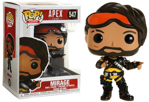Figurine Funko Pop! N°547 - Apex Legends - Mirage