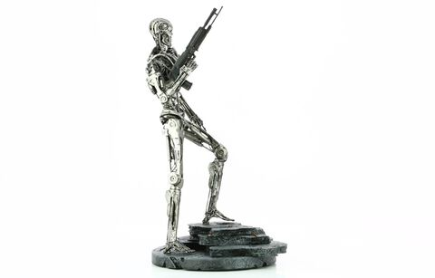 Statuette Silver Fox Collectibles - Terminator Genisys -  Endoskeleton T- 800