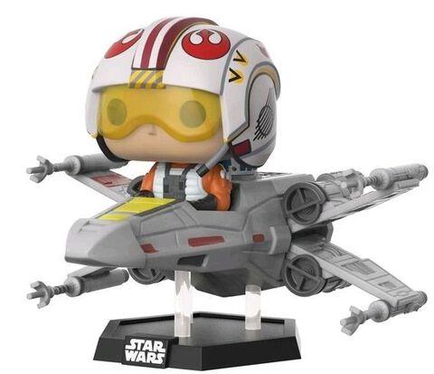 Figurine Funko Pop! Deluxe N°232 - Star Wars - Luke sur X-Wing - Exclusivité Micromania-Zing