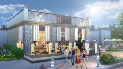 Les Sims 4 Dlc : Au Restaurant Xbox One