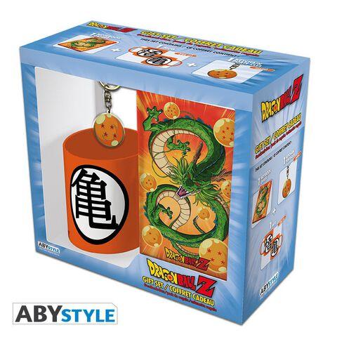Coffret - Dragon Ball - Mug 320 ml + Porte-clés + Cahier Shenron