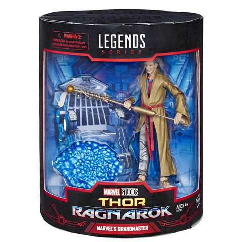 Figurine Legends - Marvel - Pack 2 Figurines The Collector  Et Grand Master 15 C