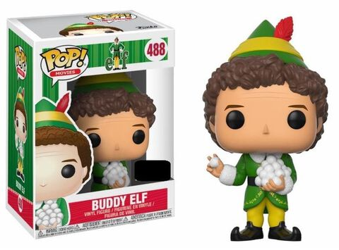Figurine Funko Pop! N°488 - Elf - Buddy avec Snowballs - Exclusivité Micromania-Zing