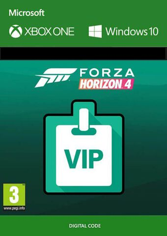 Forza Horizon 4 - DLC - VIP Membership - Version digitale
