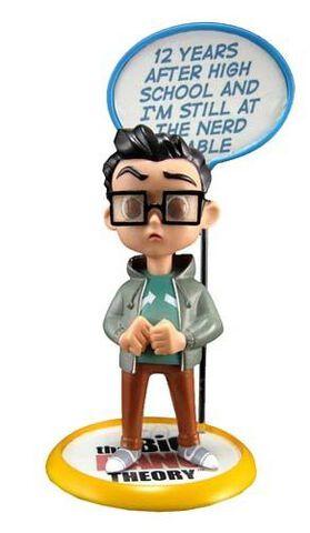 Figurine Q-pop - The Big Bang Theory - Leonard Hofstadter